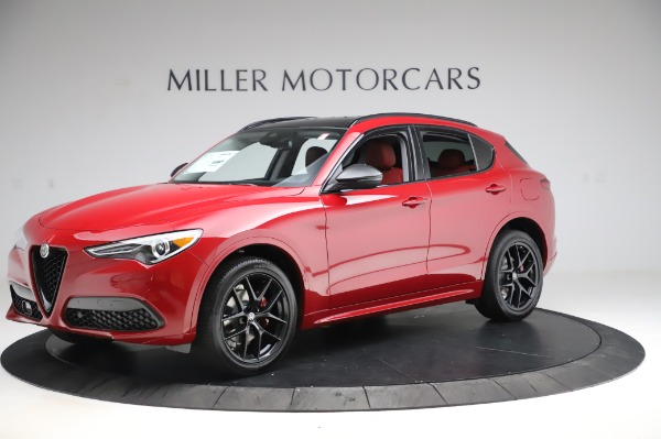 New 2020 Alfa Romeo Stelvio Sport Q4 for sale $50,195 at Maserati of Greenwich in Greenwich CT 06830 2