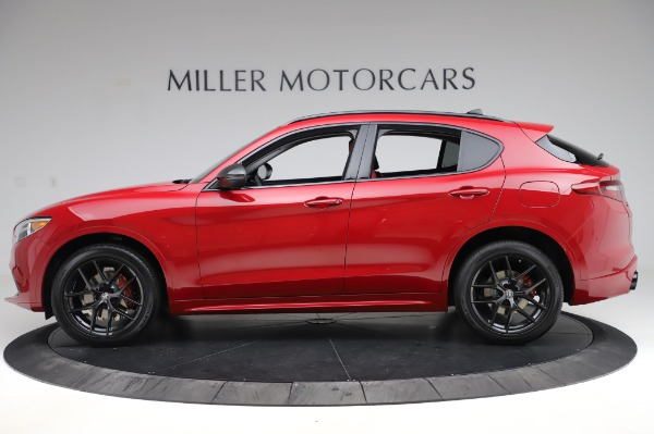New 2020 Alfa Romeo Stelvio Sport Q4 for sale $50,195 at Maserati of Greenwich in Greenwich CT 06830 3