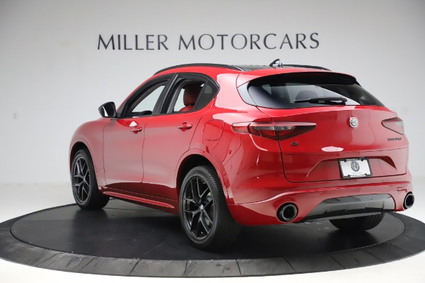 New 2020 Alfa Romeo Stelvio Sport Q4 for sale $50,195 at Maserati of Greenwich in Greenwich CT 06830 5