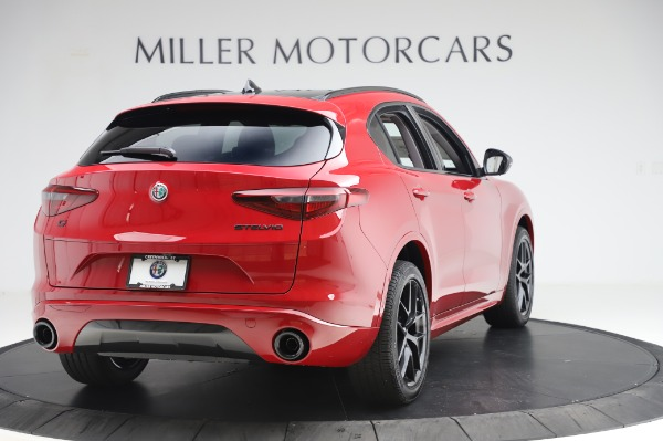 New 2020 Alfa Romeo Stelvio Sport Q4 for sale $50,195 at Maserati of Greenwich in Greenwich CT 06830 7