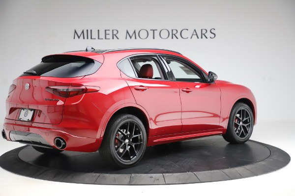 New 2020 Alfa Romeo Stelvio Sport Q4 for sale $50,195 at Maserati of Greenwich in Greenwich CT 06830 8