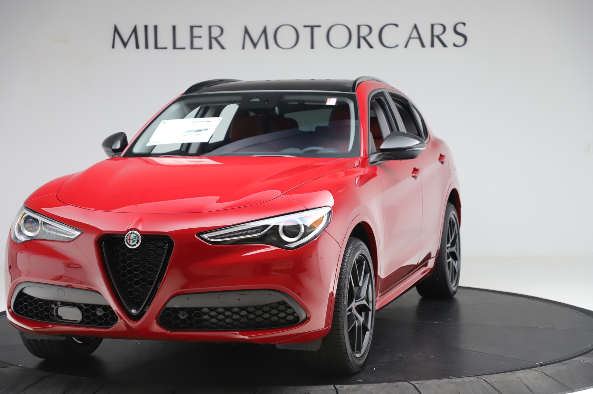 New 2020 Alfa Romeo Stelvio Sport Q4 for sale $50,195 at Maserati of Greenwich in Greenwich CT 06830 1
