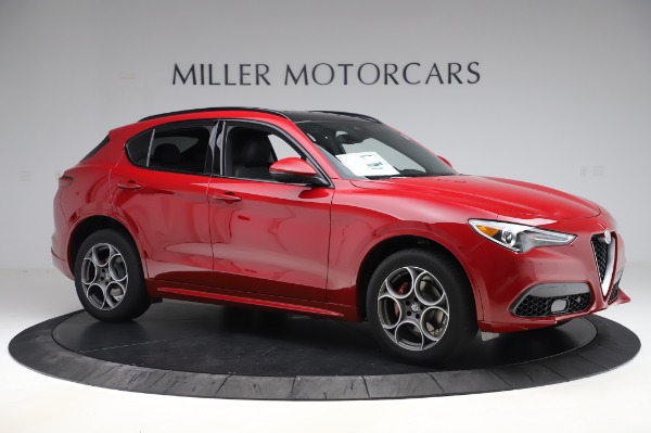 New 2020 Alfa Romeo Stelvio Sport Q4 for sale $50,645 at Maserati of Greenwich in Greenwich CT 06830 10