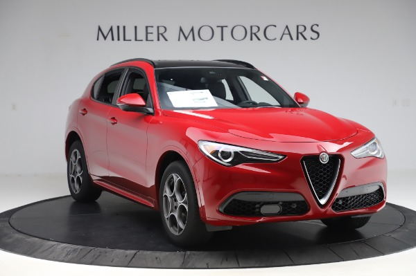 New 2020 Alfa Romeo Stelvio Sport Q4 for sale $50,645 at Maserati of Greenwich in Greenwich CT 06830 11