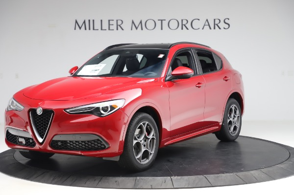 New 2020 Alfa Romeo Stelvio Sport Q4 for sale $50,645 at Maserati of Greenwich in Greenwich CT 06830 2