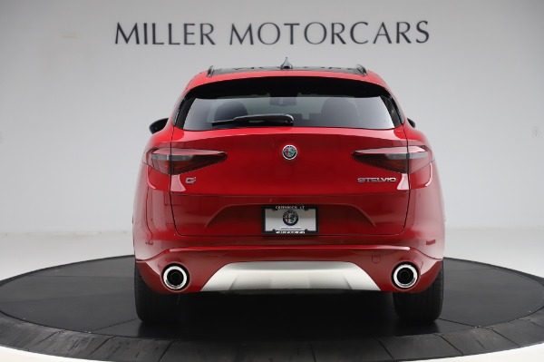 New 2020 Alfa Romeo Stelvio Sport Q4 for sale $50,645 at Maserati of Greenwich in Greenwich CT 06830 6