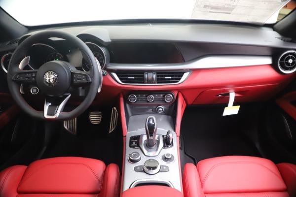 New 2020 Alfa Romeo Stelvio Ti Sport Q4 for sale $53,545 at Maserati of Greenwich in Greenwich CT 06830 16