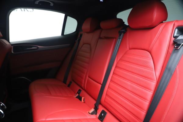 New 2020 Alfa Romeo Stelvio Ti Sport Q4 for sale $53,545 at Maserati of Greenwich in Greenwich CT 06830 18