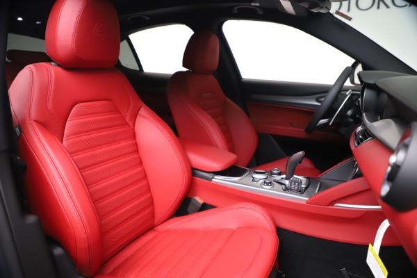 New 2020 Alfa Romeo Stelvio Ti Sport Q4 for sale $53,545 at Maserati of Greenwich in Greenwich CT 06830 22