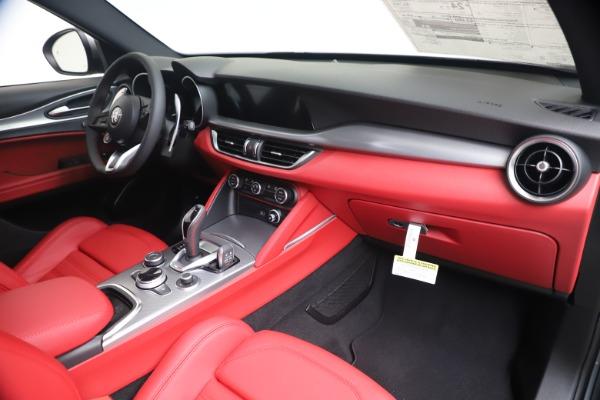 New 2020 Alfa Romeo Stelvio Ti Sport Q4 for sale $53,545 at Maserati of Greenwich in Greenwich CT 06830 24