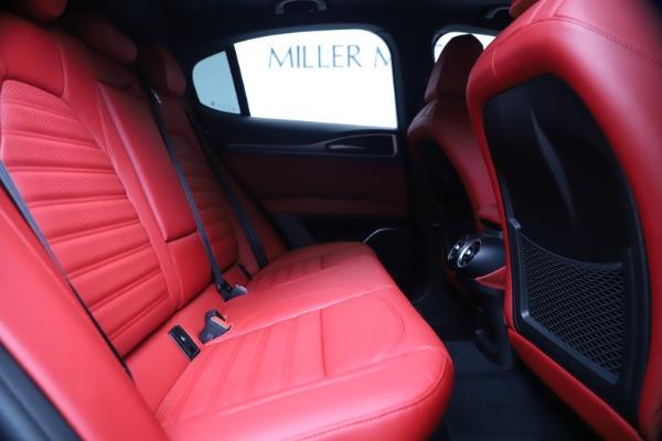 New 2020 Alfa Romeo Stelvio Ti Sport Q4 for sale $53,545 at Maserati of Greenwich in Greenwich CT 06830 27