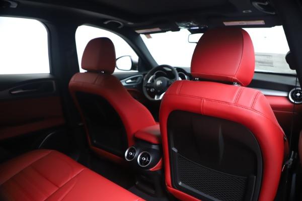 New 2020 Alfa Romeo Stelvio Ti Sport Q4 for sale $53,545 at Maserati of Greenwich in Greenwich CT 06830 28