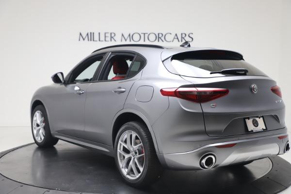 New 2020 Alfa Romeo Stelvio Ti Sport Q4 for sale $53,545 at Maserati of Greenwich in Greenwich CT 06830 5
