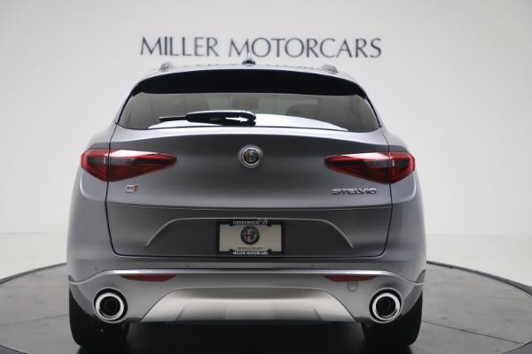 New 2020 Alfa Romeo Stelvio Ti Sport Q4 for sale $53,545 at Maserati of Greenwich in Greenwich CT 06830 6