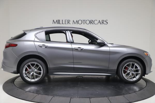 New 2020 Alfa Romeo Stelvio Ti Sport Q4 for sale $53,545 at Maserati of Greenwich in Greenwich CT 06830 9