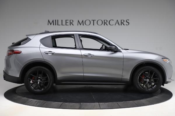 New 2020 Alfa Romeo Stelvio for sale $50,145 at Maserati of Greenwich in Greenwich CT 06830 9