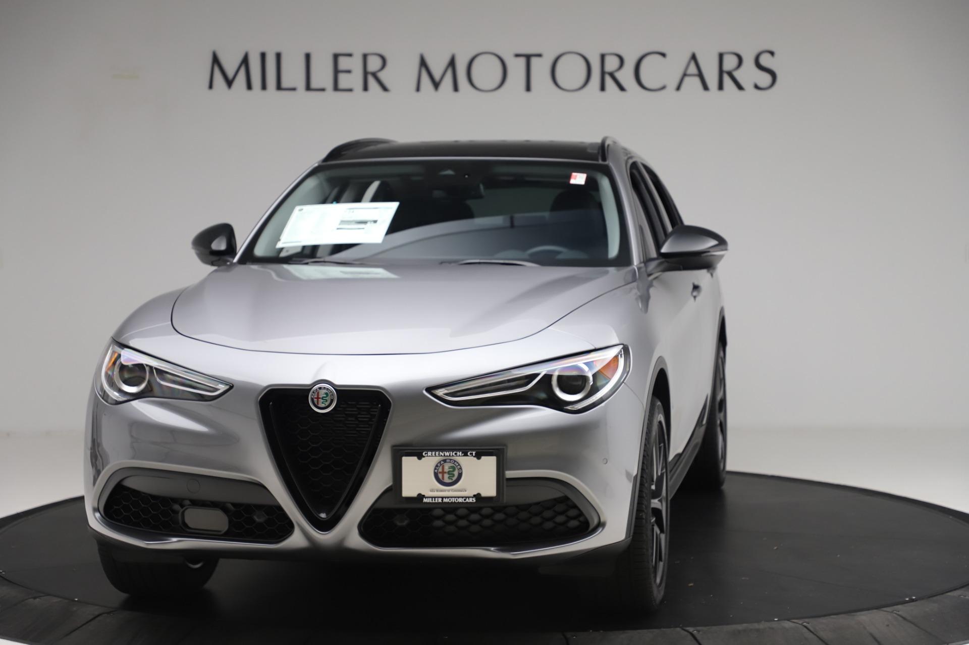 New 2020 Alfa Romeo Stelvio for sale $50,145 at Maserati of Greenwich in Greenwich CT 06830 1