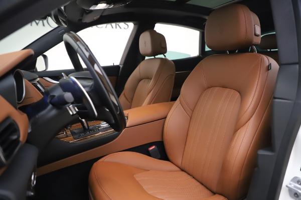 New 2020 Maserati Levante Q4 GranLusso for sale $87,449 at Maserati of Greenwich in Greenwich CT 06830 14
