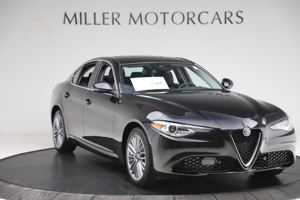 New 2020 Alfa Romeo Giulia Ti Lusso Q4 for sale $46,195 at Maserati of Greenwich in Greenwich CT 06830 11