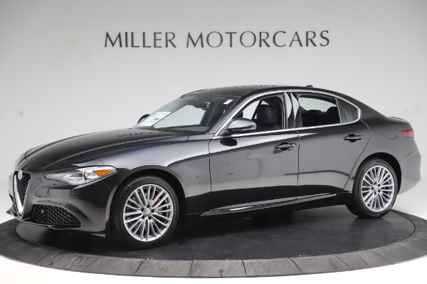 New 2020 Alfa Romeo Giulia Ti Lusso Q4 for sale $46,195 at Maserati of Greenwich in Greenwich CT 06830 2