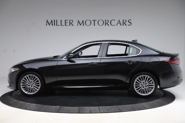 New 2020 Alfa Romeo Giulia Ti Lusso Q4 for sale $46,195 at Maserati of Greenwich in Greenwich CT 06830 3
