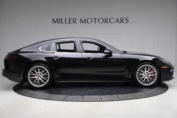 Used 2017 Porsche Panamera Turbo for sale $95,900 at Maserati of Greenwich in Greenwich CT 06830 9
