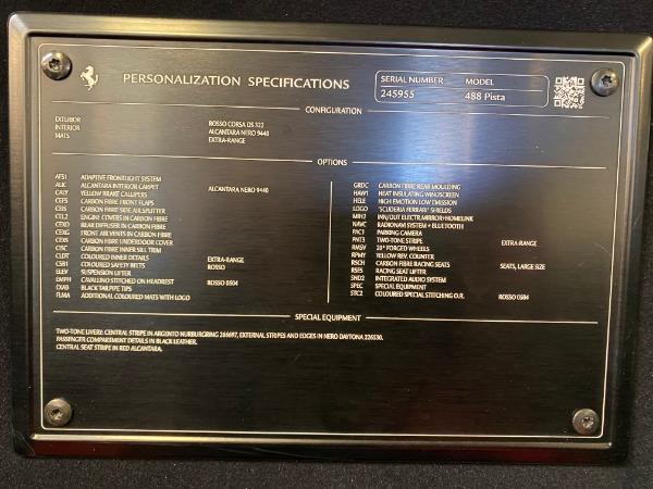 Used 2019 Ferrari 488 Pista for sale Sold at Maserati of Greenwich in Greenwich CT 06830 28