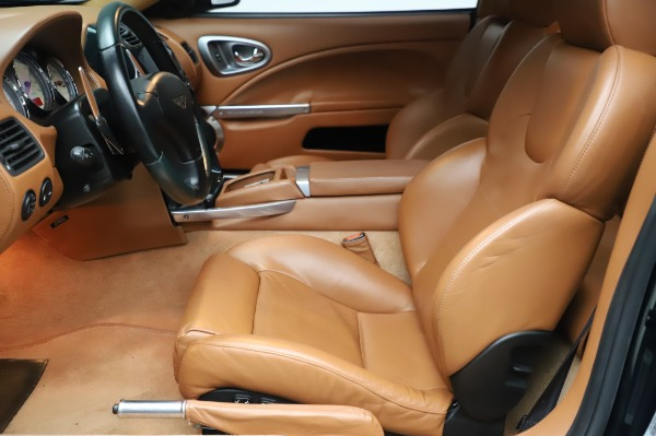 Used 2003 Aston Martin V12 Vanquish Coupe for sale $79,900 at Maserati of Greenwich in Greenwich CT 06830 14