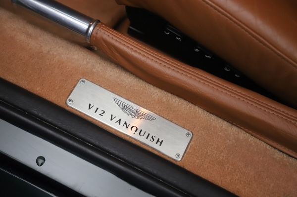 Used 2003 Aston Martin V12 Vanquish Coupe for sale $79,900 at Maserati of Greenwich in Greenwich CT 06830 16