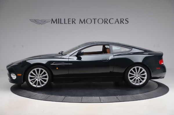 Used 2003 Aston Martin V12 Vanquish Coupe for sale $79,900 at Maserati of Greenwich in Greenwich CT 06830 2