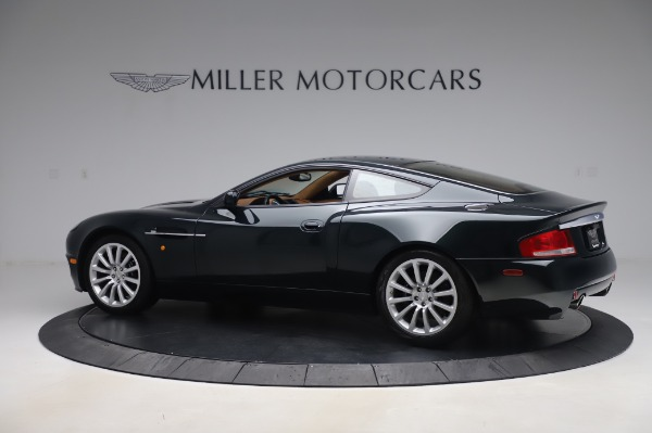 Used 2003 Aston Martin V12 Vanquish Coupe for sale $79,900 at Maserati of Greenwich in Greenwich CT 06830 3
