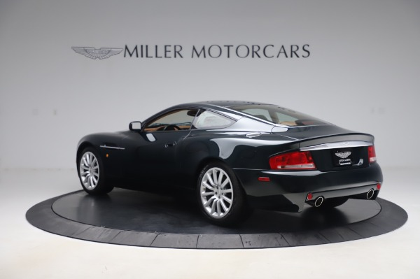 Used 2003 Aston Martin V12 Vanquish Coupe for sale $79,900 at Maserati of Greenwich in Greenwich CT 06830 4