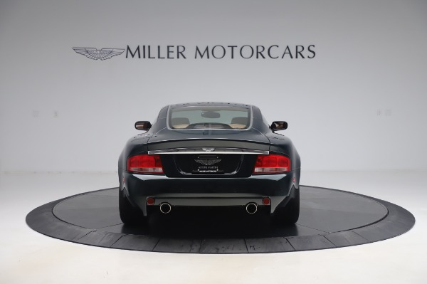 Used 2003 Aston Martin V12 Vanquish Coupe for sale $79,900 at Maserati of Greenwich in Greenwich CT 06830 5