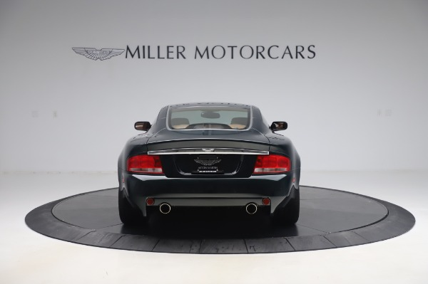 Used 2003 Aston Martin V12 Vanquish Coupe for sale $79,900 at Maserati of Greenwich in Greenwich CT 06830 6