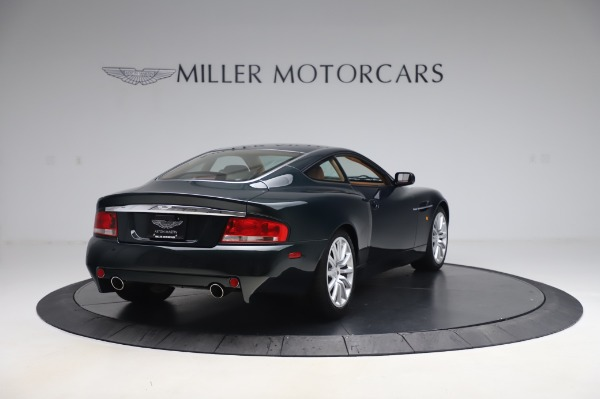 Used 2003 Aston Martin V12 Vanquish Coupe for sale $79,900 at Maserati of Greenwich in Greenwich CT 06830 7