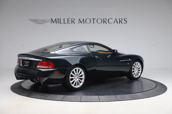 Used 2003 Aston Martin V12 Vanquish Coupe for sale $79,900 at Maserati of Greenwich in Greenwich CT 06830 8