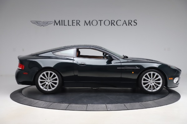 Used 2003 Aston Martin V12 Vanquish Coupe for sale $79,900 at Maserati of Greenwich in Greenwich CT 06830 9
