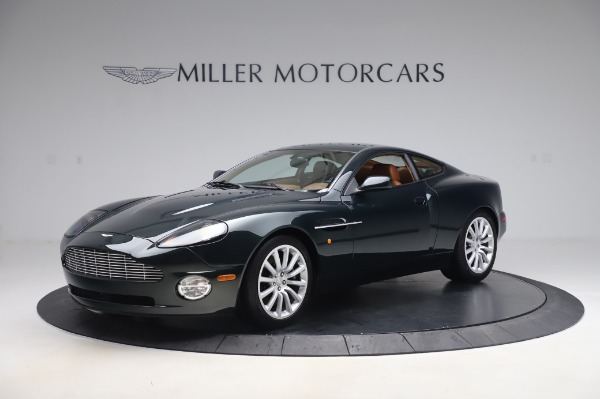 Used 2003 Aston Martin V12 Vanquish Coupe for sale $79,900 at Maserati of Greenwich in Greenwich CT 06830 1