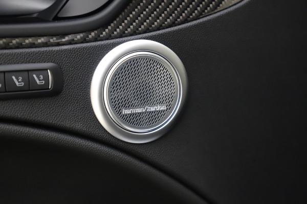 New 2020 Alfa Romeo Stelvio Quadrifoglio for sale Sold at Maserati of Greenwich in Greenwich CT 06830 24