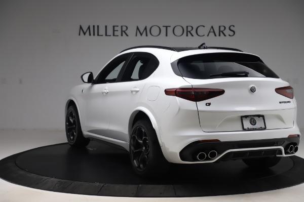 New 2020 Alfa Romeo Stelvio Quadrifoglio for sale Sold at Maserati of Greenwich in Greenwich CT 06830 5