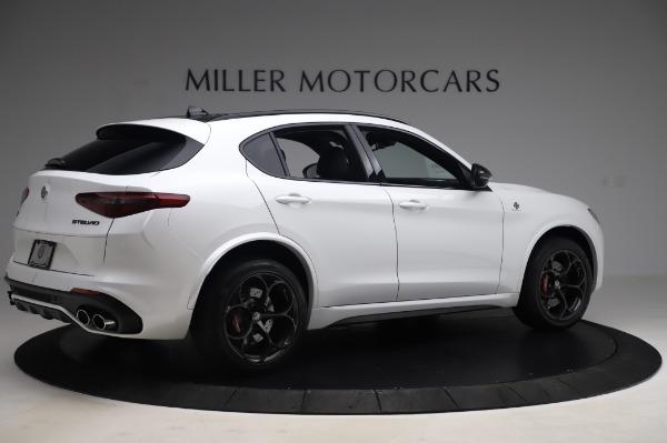 New 2020 Alfa Romeo Stelvio Quadrifoglio for sale Sold at Maserati of Greenwich in Greenwich CT 06830 8