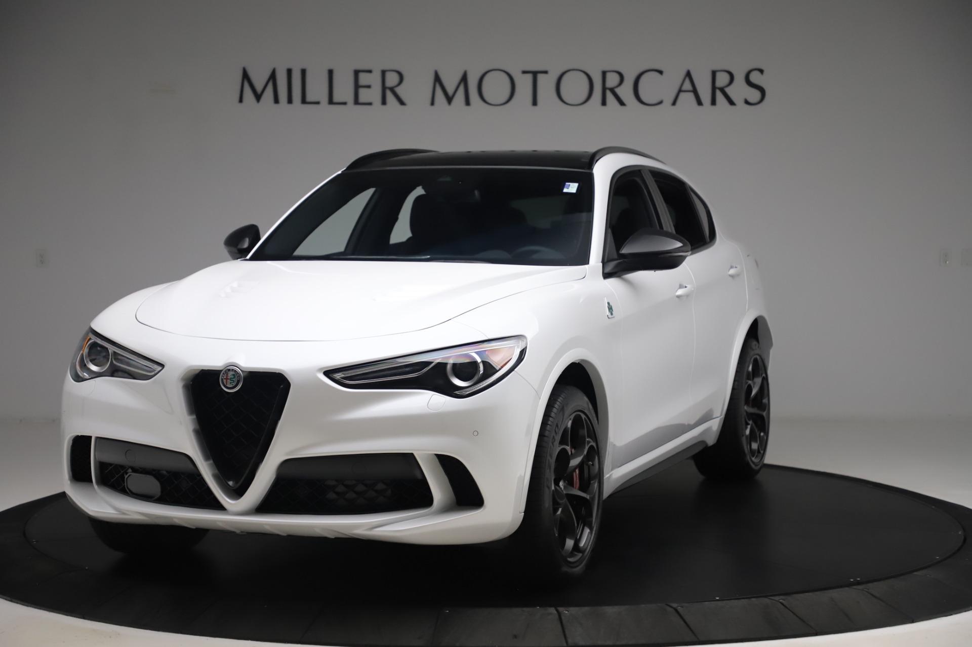New 2020 Alfa Romeo Stelvio Quadrifoglio for sale Sold at Maserati of Greenwich in Greenwich CT 06830 1
