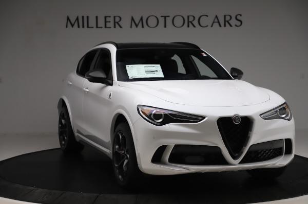 New 2020 Alfa Romeo Stelvio Quadrifoglio for sale $89,145 at Maserati of Greenwich in Greenwich CT 06830 11
