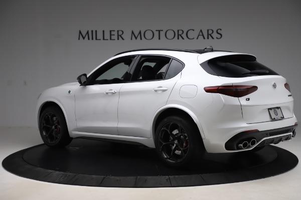 New 2020 Alfa Romeo Stelvio Quadrifoglio for sale $89,145 at Maserati of Greenwich in Greenwich CT 06830 4