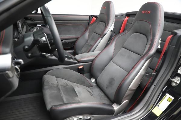 Used 2018 Porsche 911 Carrera 4 GTS for sale $137,900 at Maserati of Greenwich in Greenwich CT 06830 15