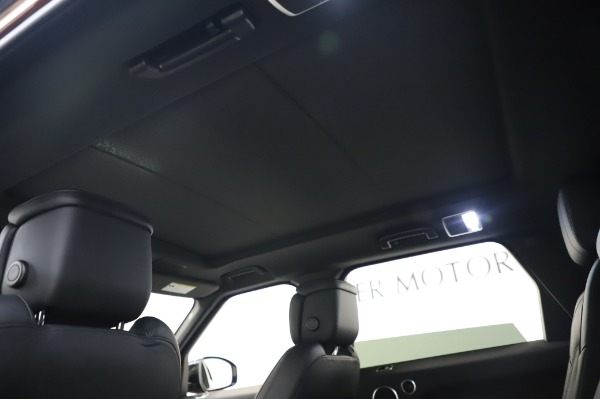 Used 2019 Land Rover Range Rover Sport Autobiography for sale Sold at Maserati of Greenwich in Greenwich CT 06830 21