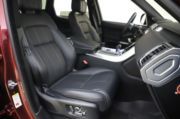 Used 2019 Land Rover Range Rover Sport Autobiography for sale Sold at Maserati of Greenwich in Greenwich CT 06830 22