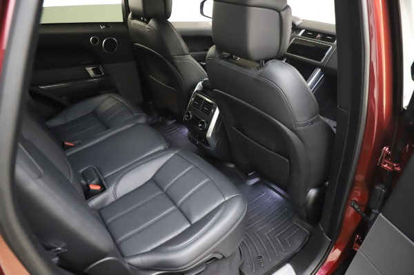 Used 2019 Land Rover Range Rover Sport Autobiography for sale Sold at Maserati of Greenwich in Greenwich CT 06830 23