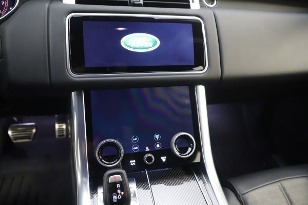 Used 2019 Land Rover Range Rover Sport Autobiography for sale Sold at Maserati of Greenwich in Greenwich CT 06830 26