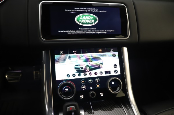 Used 2019 Land Rover Range Rover Sport Autobiography for sale Sold at Maserati of Greenwich in Greenwich CT 06830 27